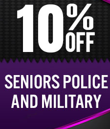10% Discounts Offers for senior police and military in Seattle, Washington