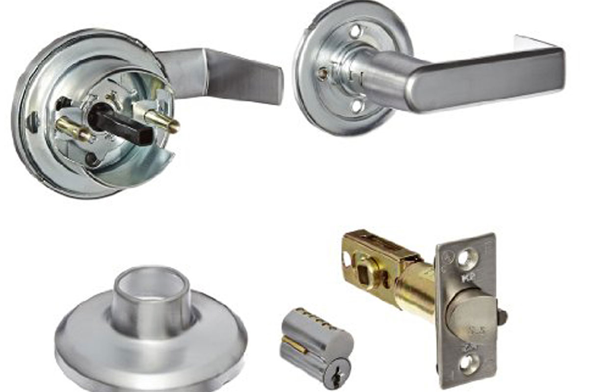 Commercial door hardware replacement and repair services throughout the Motor City.