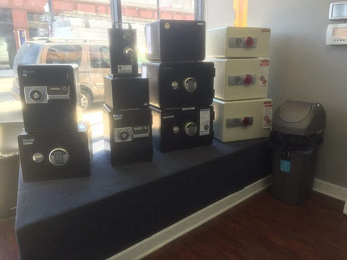 different type of safes in Seattle, WA